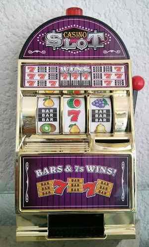 Alcancia En Forma De Maquina De Casino De Las Vegas