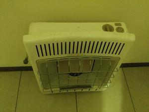 Calefactor de gas natural o lp