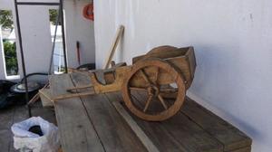 Carreta madera