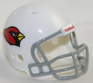 Casco Nfl Pocket Revolution Y Banderin Nfl Arizona Cardinals