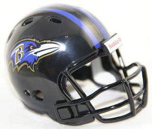 Casco Nfl Pocket Revolution Y Banderin Nfl Baltimore Ravens
