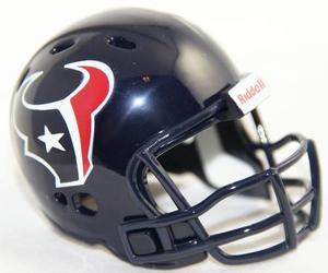Casco Nfl Pocket Revolution Y Banderin Nfl Houston Texans