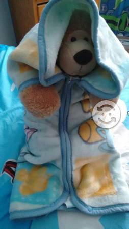 Cobertor porta bebe baby mink