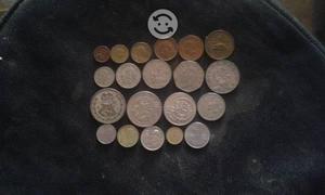 Coleccion de monedas mexicanas anguas