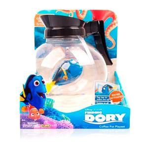 Disney Buscando A Dory Playset Cafetera Y Dory