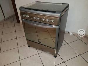 Estufa Acros de acero inoxidable