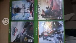 Juegos para Xbox One Battlefield 4, Titanfall, etc