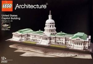 Lego Arquitectura  Edificio Capitolio Estados Unidos