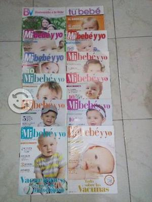 Lote de 12 revistas de bebe