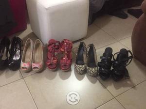 Lote de 5 Pares de Zapatos talla 5.5 varias marcas