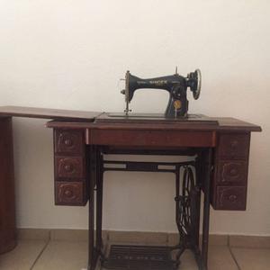 Mesa con base maquina coser singer posot class - Mesa maquina coser singer ...
