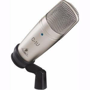 Microfono Condensador Usb Behringer C-1u