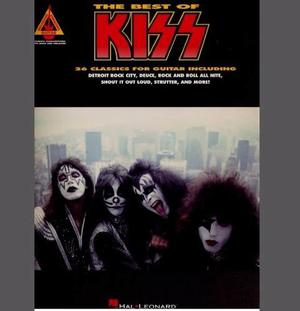 Partituras Guitarra Kiss The Best Of Kiss