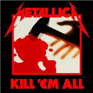 Partituras Guitarra Metallica Kill Em All Album