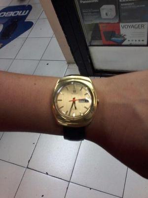 Reloj Automatico Suizo Chapa de Oro Antiguo