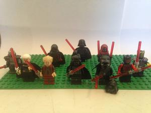 Set Star Wars Sith Lado Obscuro Vader Duku Maul Revan Lego