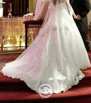 Vestido novia de marca