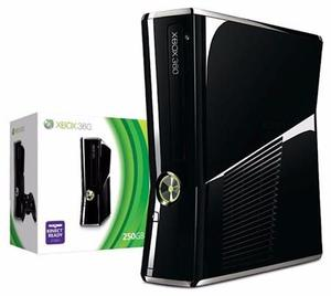 Xbox 360 Slim 250gb Con +30 Juegos Negociable!