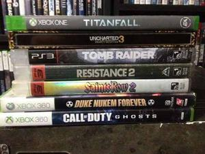 Lote De Video Juegos (xbox 360, Ps3, Xbox One)
