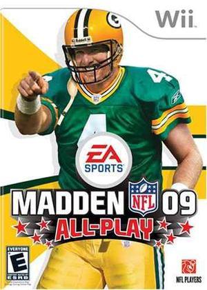 Madden 09 All Play Usado Wii Original Blakhelmet C