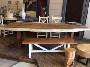 Juego 5 pinceles madera con metal cerda natural posot class for Natural burguer mesa y lopez
