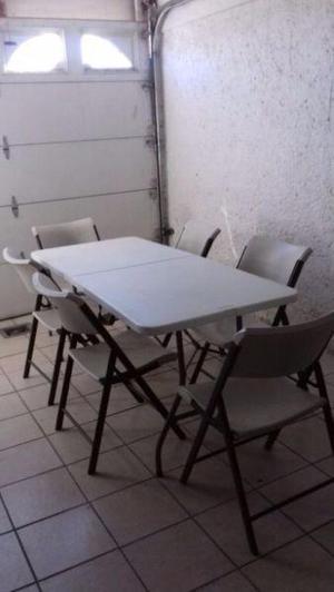 Renta de mesas sillas y videorokolas