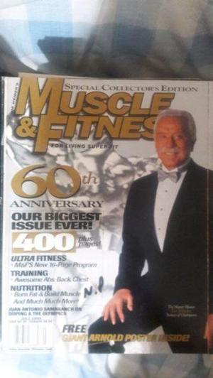 Revista Muscle and fitnes