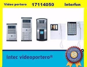 Tecnicos instaladores de interfonos y videoporteros