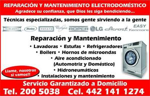 refrigeradores reparación Querétaro congeladores,