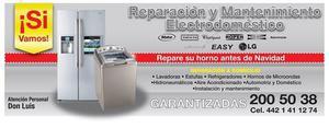 refrigeradores, reparación queretaro a domicilio, vitrinas