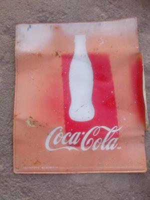 Antigüo Letrero De Coca-cola {lámina}