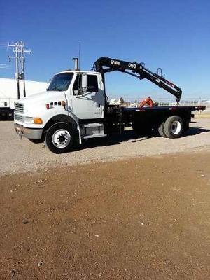 Camion Grua Sterling Con Grua Hiab 090