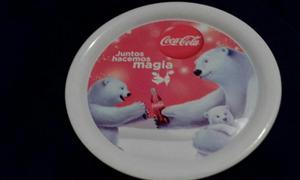 Coca Cola Charola Mediana