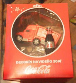 Decorin Navideño Coca Cola
