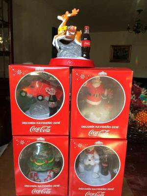 Decorín Navideño Coca Cola  Santa, Oso, Reno, Arbol Y