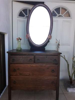 Espejo con repisas de madera monterrey posot class for Espejo ovalado
