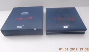 Mont Blanc Estuche Para Pluma Edicion Andy Warhol C/caja Ext