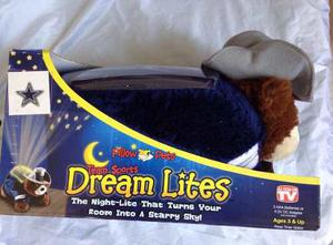 Nfl Dallas Cowboys Vaqueros Almohada Mascota Dream Lites