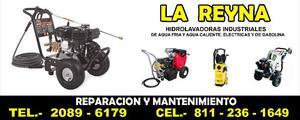 REPARACION Y MANTENIMIENTO DE HIDROLAVADORAS LA REYNA