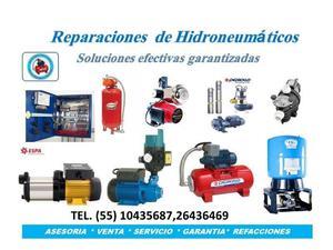 Reparaciones de Bombas de Agua e Hidroneumaticos