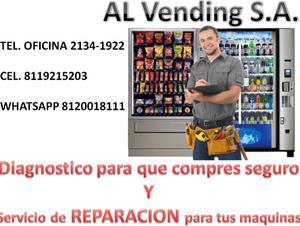 SERVICIO DE REPARACION VENDING