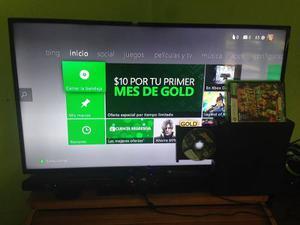 Vendo Xbox 360 Slim 4gb Con Kinect Especial Para Reyes