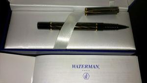 Waterman Paris Con Estuche Nuevas