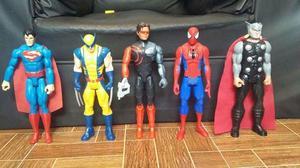 Combo de super heroes
