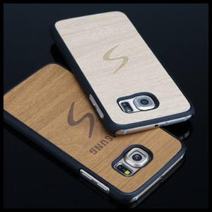Funda Estilo Madera Case Galaxy S6 / S6 Edge