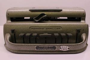 Maquina Escritura Braille -perkins $