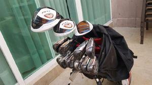Set de palos de golf completo. Marca Taylor Made. 14 Palos