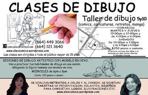 CLASES DE DIBUJO CREATIVO (TIJUANA 5 Y 10