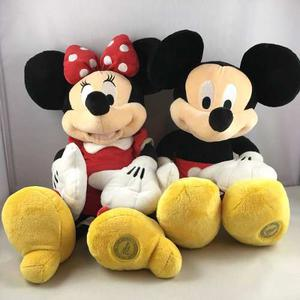 Disney Peluches 18'' Set Mickey & Minnie Mouse Disney Store