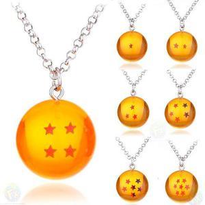Dragon Ball 1 Collar De Esfera Del Dragon Estrellas Goku Z
